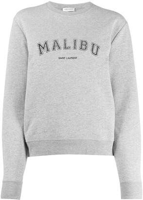 Saint Laurent Malibu crewneck sweatshirt