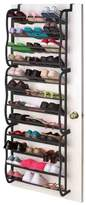 Sunbeam 36-Pair 12-Tier Overdoor Shoe Organizer