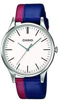 Casio Collection Men's Analogue Quartz Watch with Genuine Leather Strap – MTP-E133L-7EEF