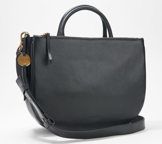 margot new york Convertible Leather Tote - Selene