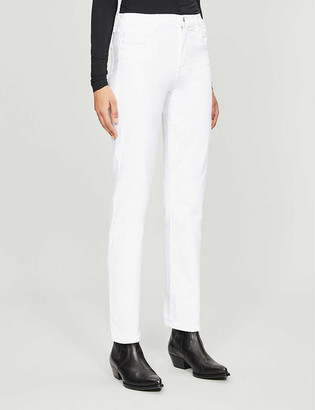 J Brand Adele straight high-rise jeans