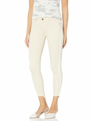 DL1961 Women's Florence Cropped-Mid Rise Instasculpt Skinny