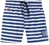 Schiesser Boy's Aqua Capt ́n Sharky Swimshorts Swim Shorts