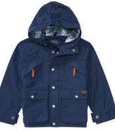 Ralph Lauren Cotton-blend Hooded Jacket