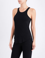 I.D. Sarrieri Café Créme stretch-jersey top