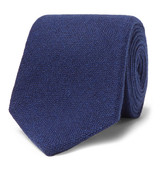Drakes Drake's - 8cm Knitted Cashmere Tie