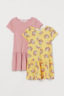 H&M 2-Pack Jersey Dresses