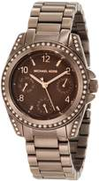 Michael Kors Women's MK5614 Blair Espresso Watch