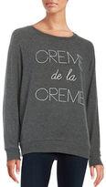 Junk Food Clothing Creme de la Creme Sweatshirt