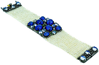 Arthur Marder Fine Jewelry 3.35 Ct. Tw. Diamond, Gemstone, & 1.72Mm Pearl Bracelet
