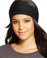 Charter Club Cashmere Cable Knit Headband, Only at Macy's