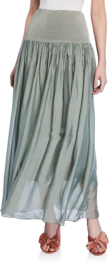 a769262f15158d High Waist Chiffon Skirt - ShopStyle