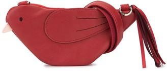 Familiar Bird Shaped Clutch Bag