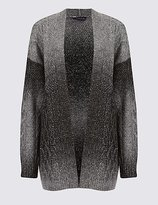 M&S Collection Textured Ombre Longline Cardigan