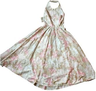 Cacharel Multicolour Cotton Dress for Women Vintage