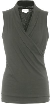 Velvet Adelise stretch-cotton jersey top