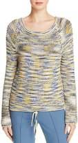 Theory Coella Drawstring Hem Sweater