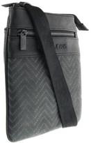 Versace Ee1yobb52 Emaq Black/grey Mens Messenger Bag.