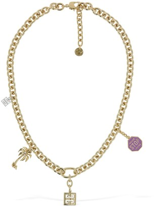 Givenchy Multi-Charm Short Necklace