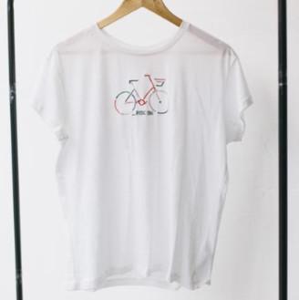 Armedangels White Organic Cotton Loose Fit T Shirt - 14 - White