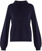 Allude Roll-neck cashmere sweater