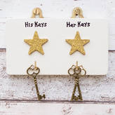Siop Gardd Personalised Celebrity Key Hanger/Holder