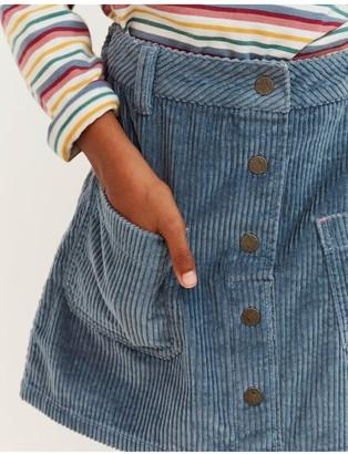 Fat Face Girls Cord Skirt - Cornflower