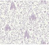 York Wall Coverings York wallcoverings Disney Small Scrolls & Castles Removable Wallpaper