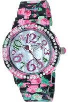 Betsey Johnson BJ00482-16 - Flower Print Watches