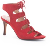 Sole Society Rosalie lace-up mid heel