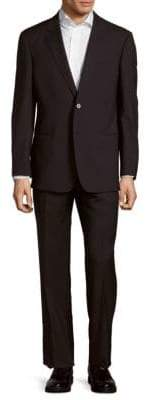 Armani Collezioni Modern Fit Solid Virgin Wool Suit