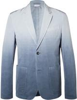 Jil Sander - Slim-fit Garment-dyed Woven Blazer