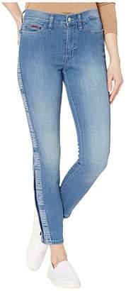 Tommy Hilfiger Adaptive Signature Jeggings (Light Wash/Multi) Women's Casual Pants