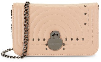 Longchamp Studded Leather Chain Wallet
