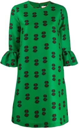 La DoubleJ 24/7 Floral Print Mini Dress