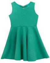 Rare Editions Girls 2-6x Geometric Textured Dress