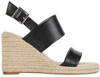 Jane Debster Dice Black Glove Sandals