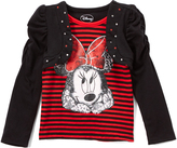 Children's Apparel Network Minnie Mouse Stripe Top - Toddler