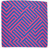Pierre Hardy Striped Silk Scarf