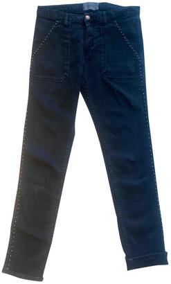 BA&SH Fall Winter 2019 Black Cotton - elasthane Jeans