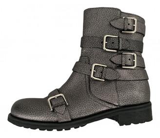 Jimmy Choo Metallic Leather Boots