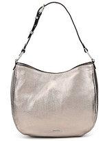 Calvin Klein Metallic Leather Hobo Bag