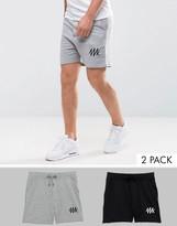 Jack & Jones Core Sweat Shorts 2 Pack Save
