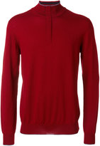 Etro zipped collar jumper - men - Wool - M