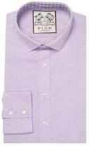 Thomas Pink Solid Spread Dress Shirt