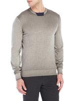 Armani Collezioni Faded Patch Sweater