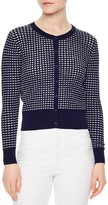 Sandro Andrey Textured Knit Cardigan