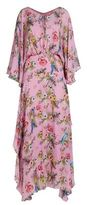 Pinko Floral Print Maxi Dress