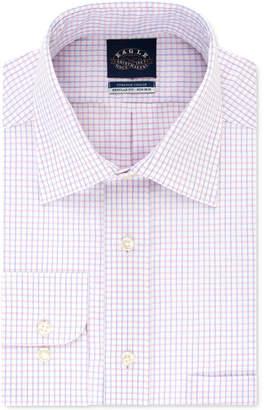 Eagle Men Classic-Fit Gingham Dress Shirt
