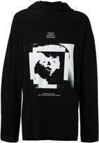 Julius printed hoodie - men - Cotton/Modal - II